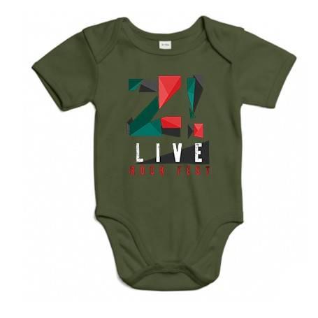 """Body bebé """"Logo color Z LIVE"""""""