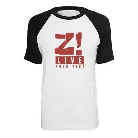 "Camiseta ranglan ""Logo Rojo"""